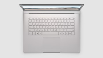 Surface Book 3 top view of keyboard