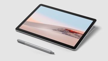 Equipo Surface Go 2 de 10,5pulgadas en modo Estudio