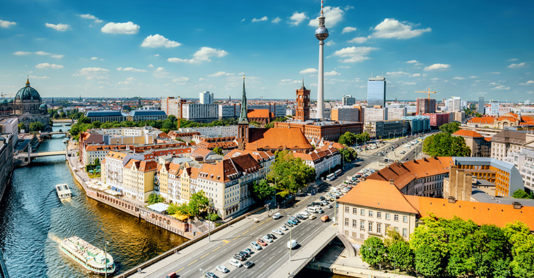 City scape of Berlin