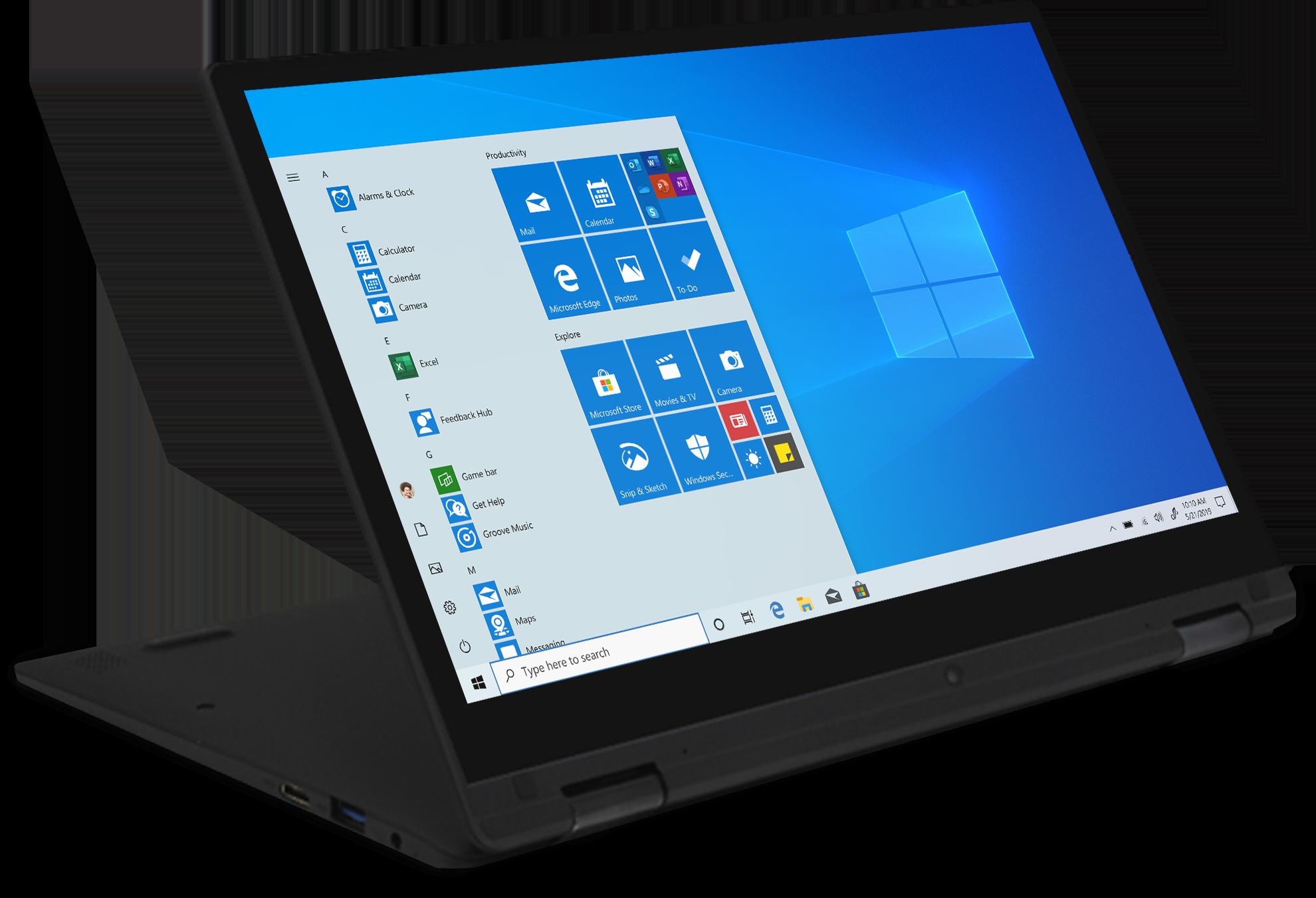 RE4oV6d?ver=3e39 - EVOO 13.3'' Convertible Touchscreen EV-L2in1-133-2-BK 2-in-1 PC