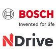 Das Logo der Firma Bosch und NDrive