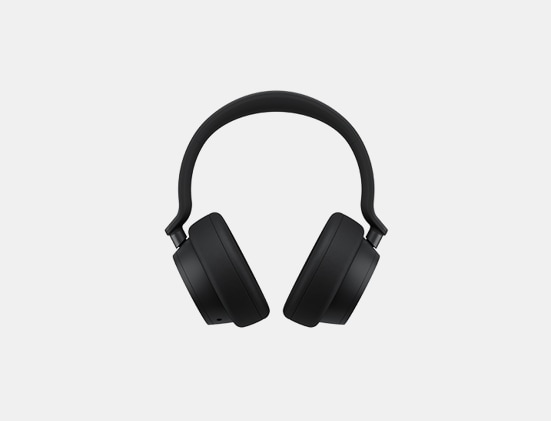Matte Black Surface Headphones 2
