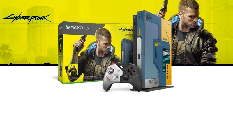Xbox One X Cyberpunk 2077 Limited Edition Bundle 1tb Xbox One