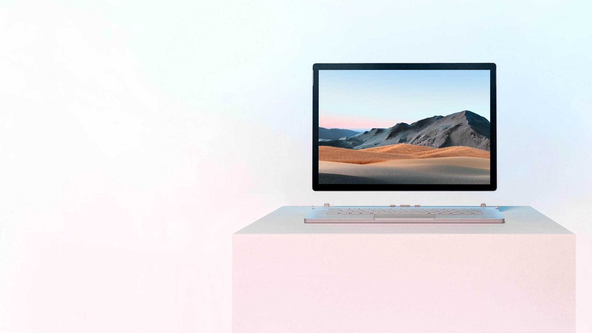 Surface Book 3 mit abgenommenem Bildschirm