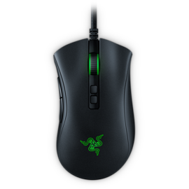 Razer DeathAdder V2 from the top down