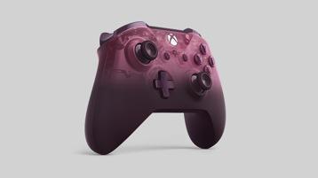 Vista angular do Comando Sem Fios Xbox Phantom Magenta Special Edition