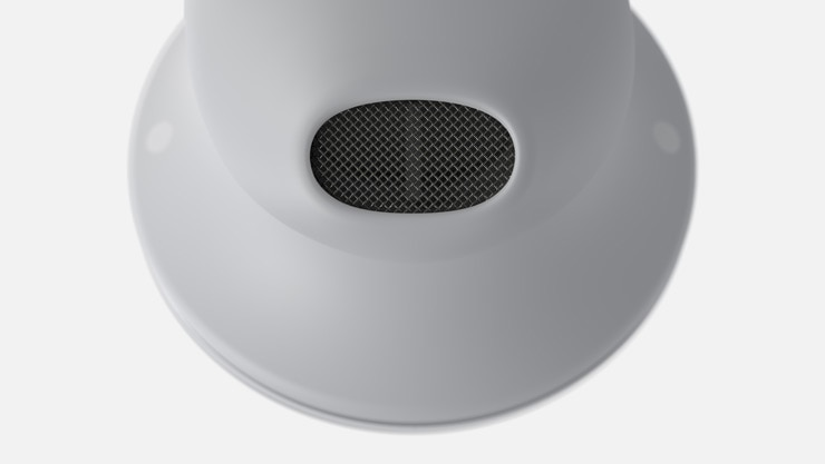 Close-up of Surface Earbuds speaker grill
