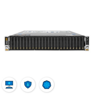 Optimized for all solutions except branch office and edge and scale-out storage
