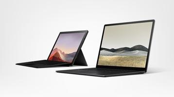 Économisez jusqu'à 609 € sur Surface Pro 7 et Surface Laptop 3 équipés de Windows 10 Professionnel.