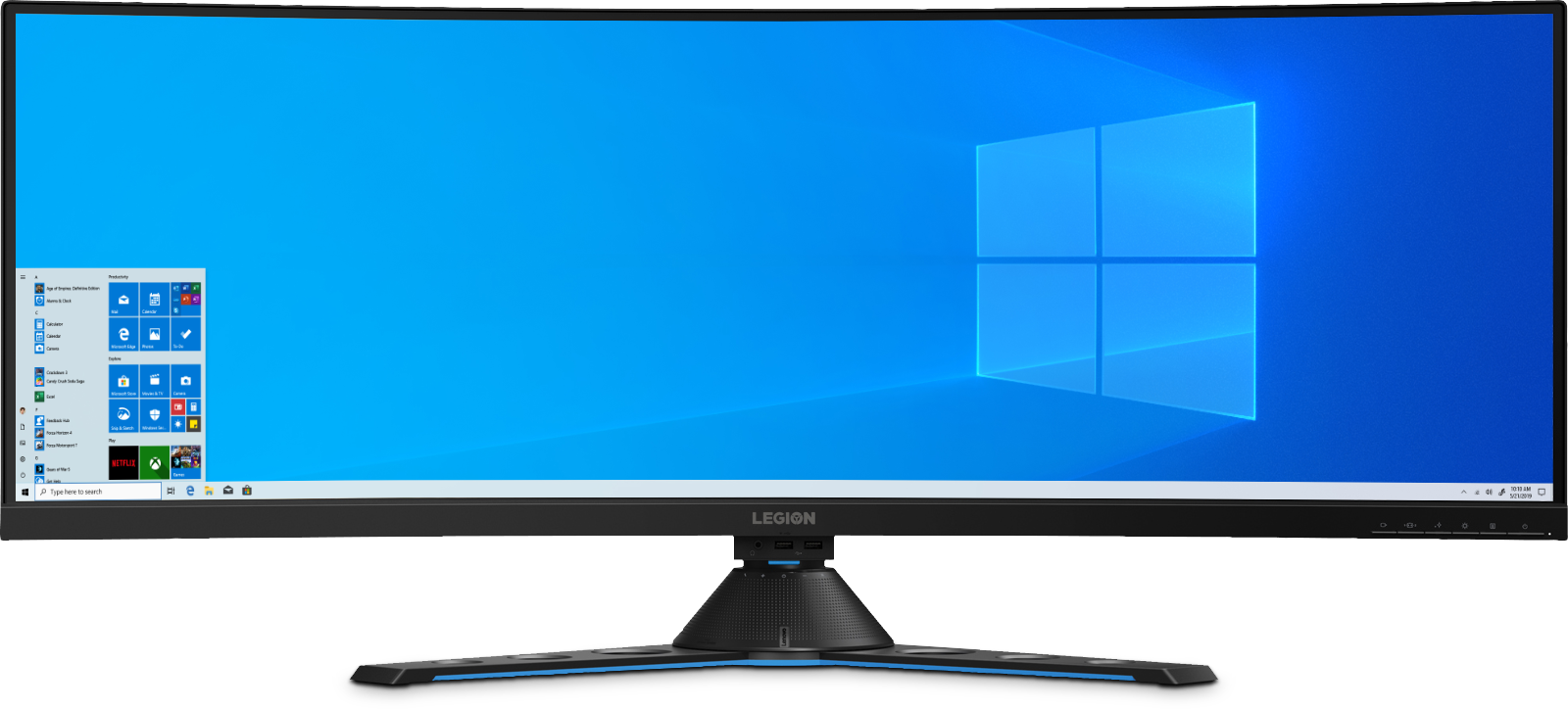 "RE4qZUK?ver=38fe - Lenovo Legion Y44w-10 43.4"""" Gaming Monitor"