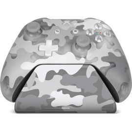 Xbox Pro Charging Stand in Arctic Camo