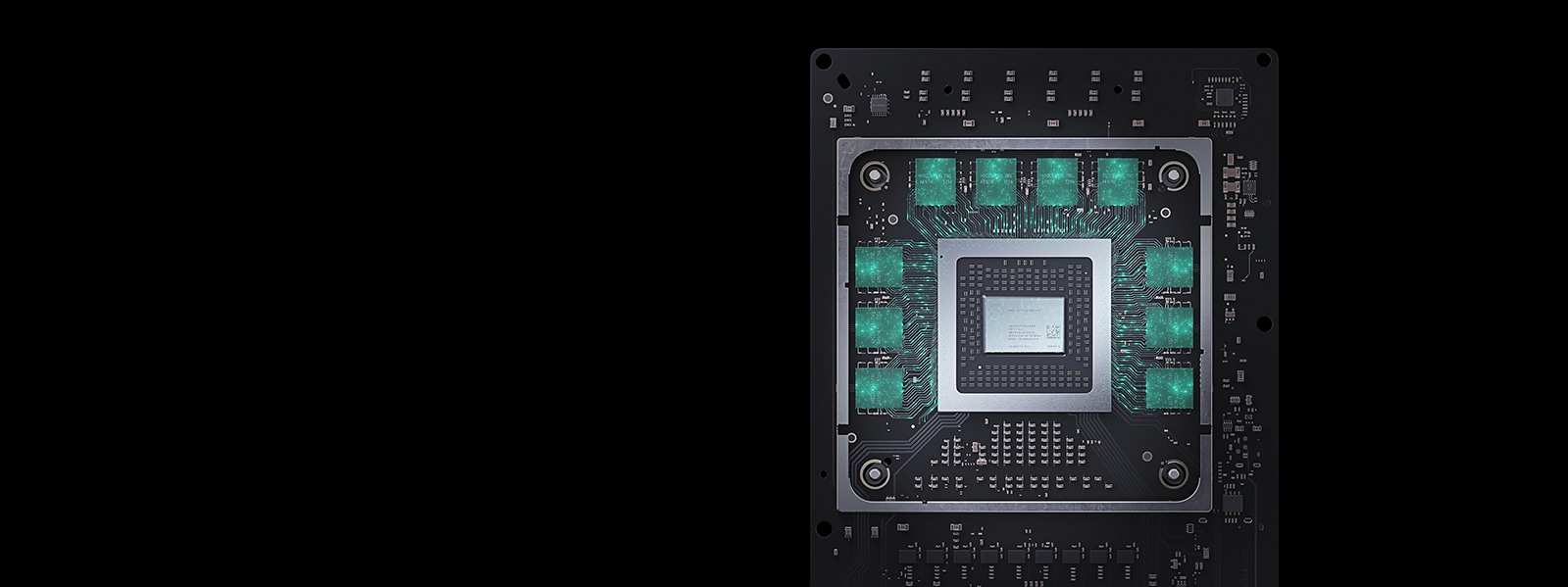Detailed Image of Xbox Series X processor layout