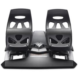 Front view of the Thrustmaster TFRP Pedals