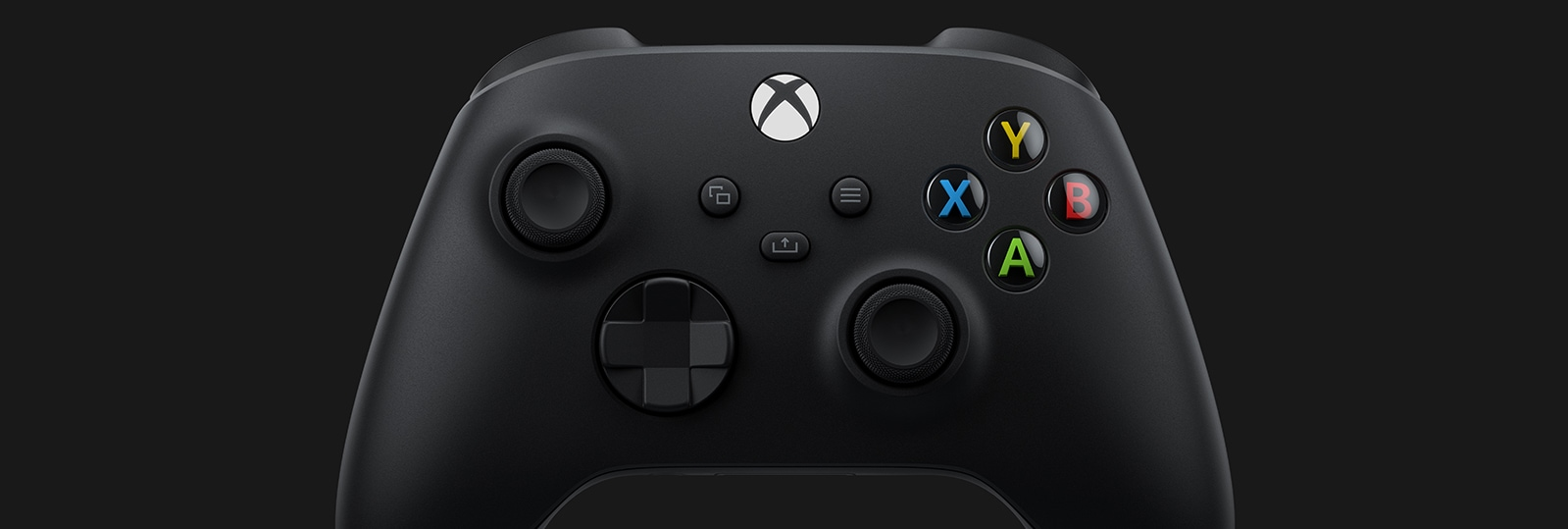 Front facing view of new Xbox Series X Controller