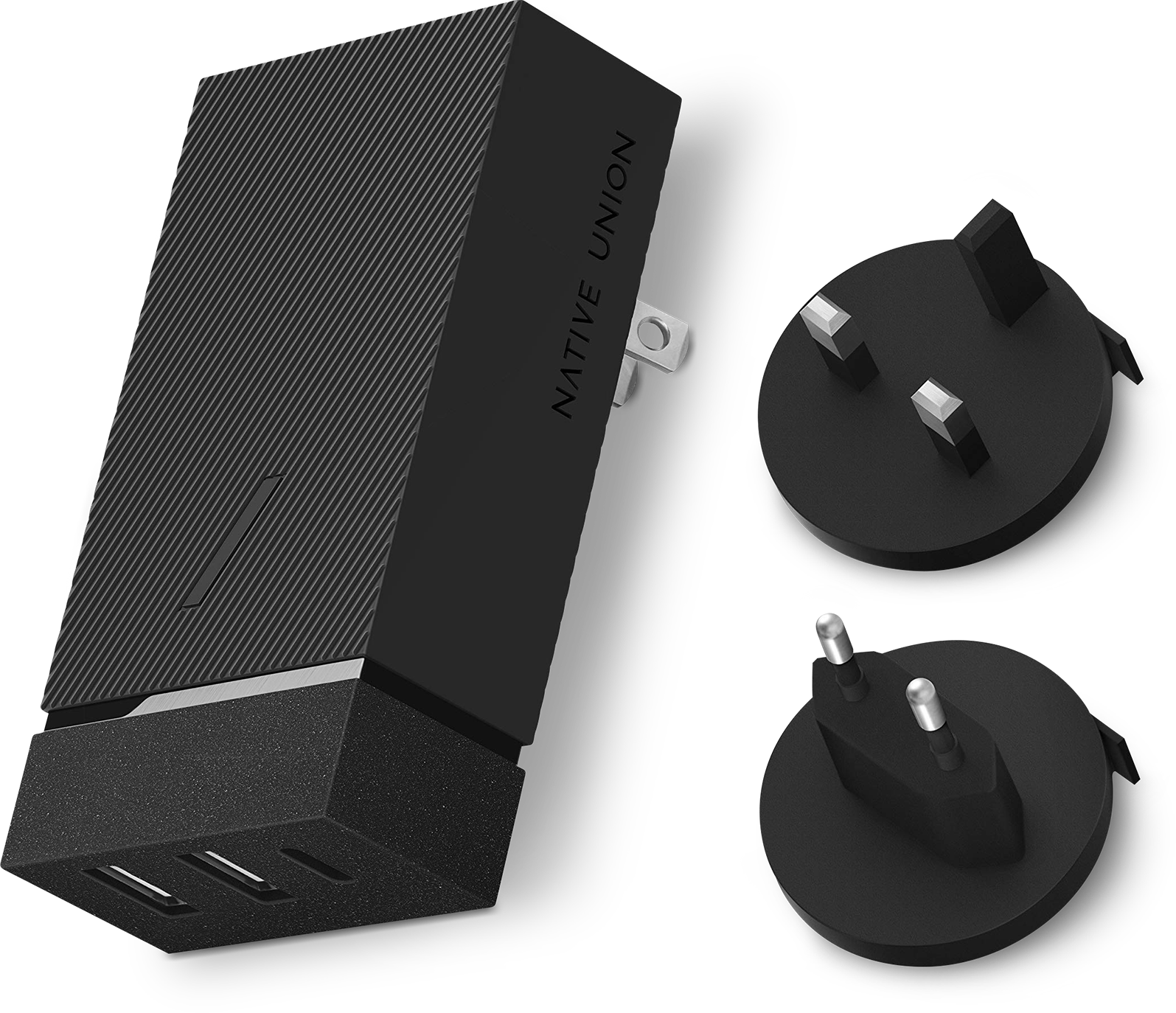 RE4rNy8?ver=535b - Native Union Smart Charger 45W (Slate)