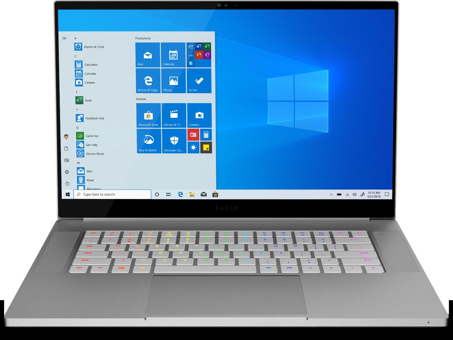 Razer Blade 15 Studio Edition Laptop 15.6-inch 4K UHD touchscreen Intel Core i7-9750H 32 GB memory/1 TB SSD NVIDIA Quadro RTX 5000 Studio Edition