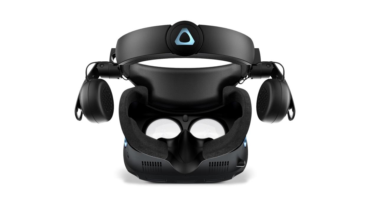 Birds-eye view of HTC Vive Cosmos Elite VR System