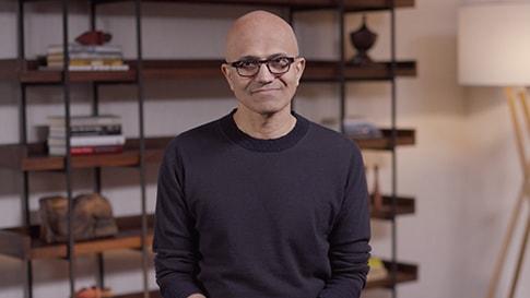 Satya Nadella, Microsoft's Chief Executive Officer