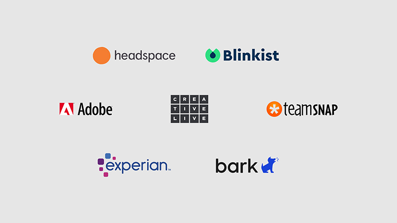 Collection of partner logos