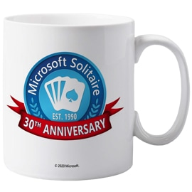 Solitaire 30th Anniversary Mug Cup