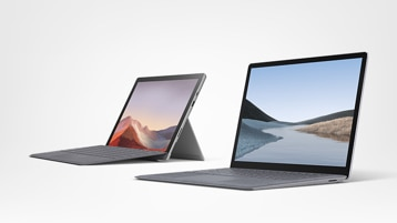 Surface Pro 7 for Business und Surface Laptop 3 for Business