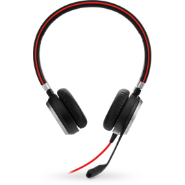 Front view of Jabra Evolve 40 Headset