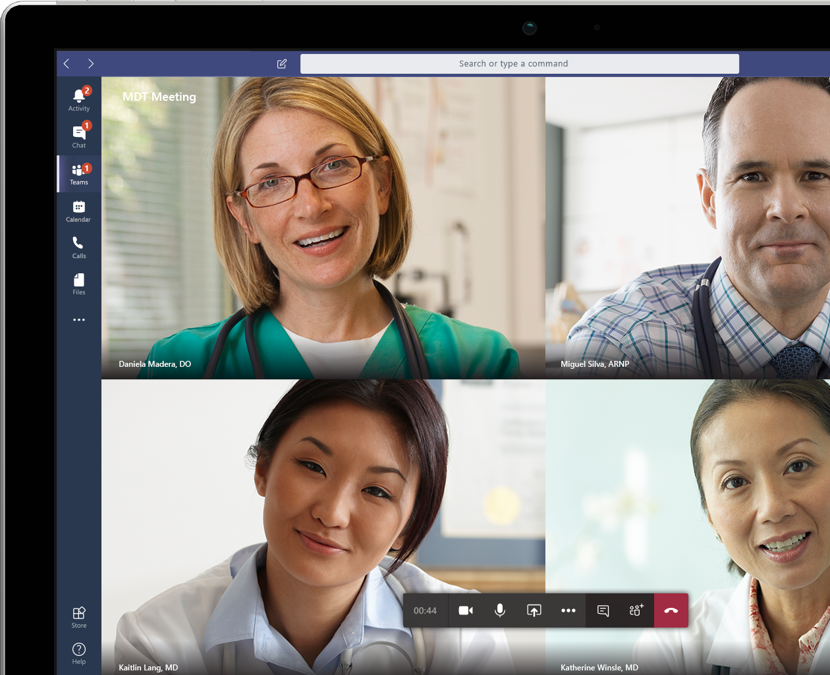 microsoft teams for hospitals meeting