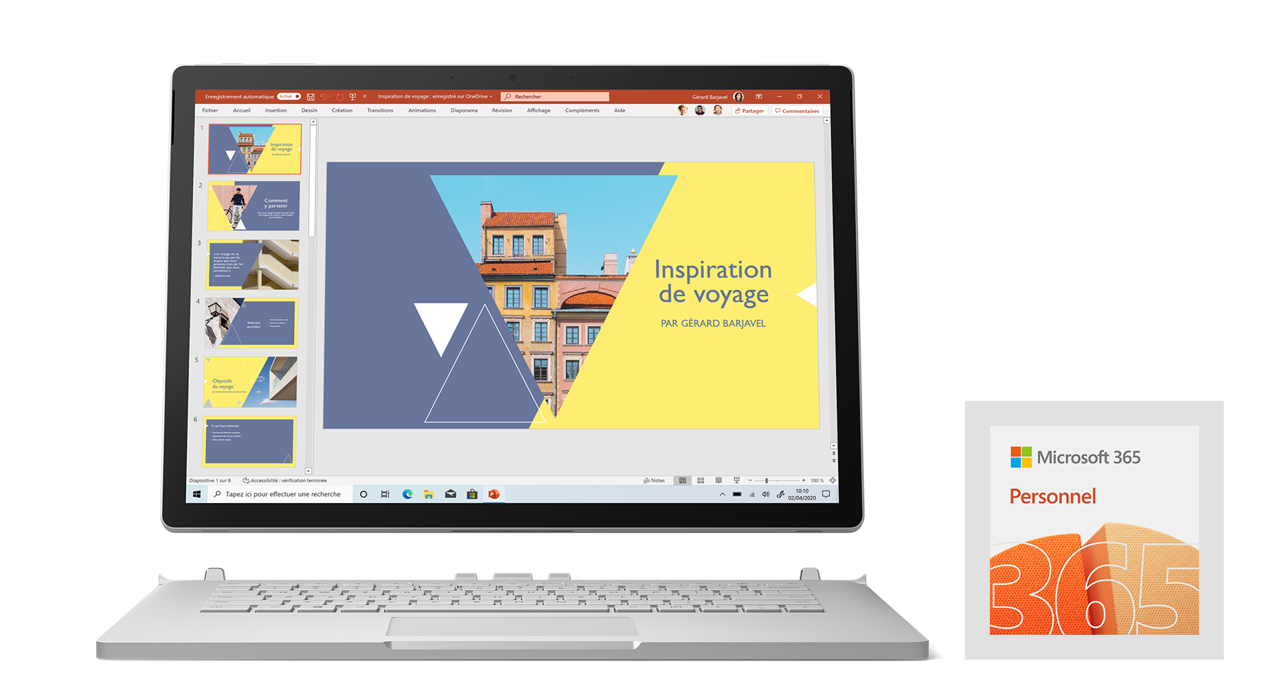 Pack avantage Surface Book 3
