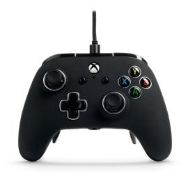Vista frontale del controller cablato PowerA Fusion Pro per Xbox One - Nero