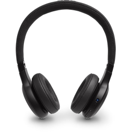 JBL Live 400BT in Black from the front