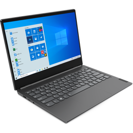 Left sided view of the Lenovo Thinkbook Plus