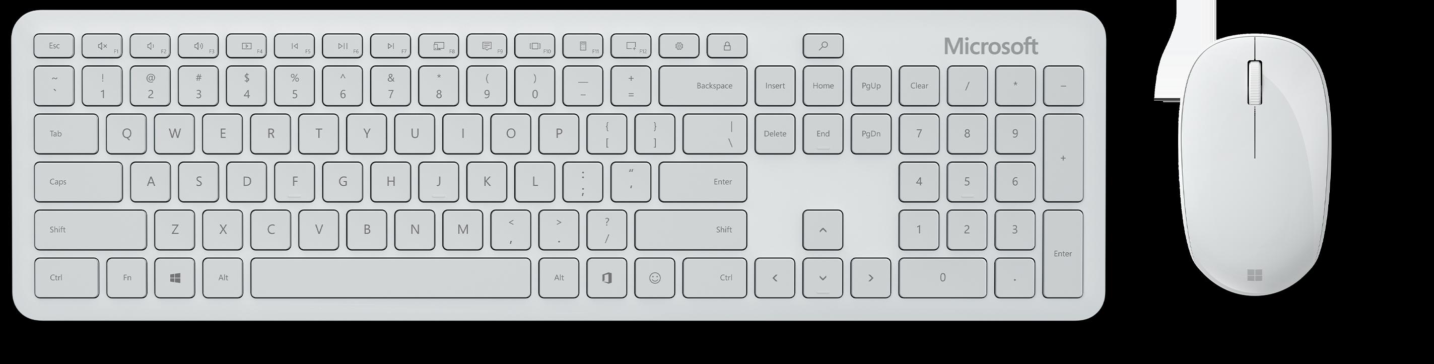 Microsoft Bluetooth® Desktop