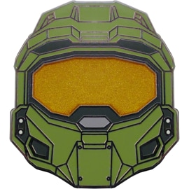 Front view of Master Chief Helmet Pin 01