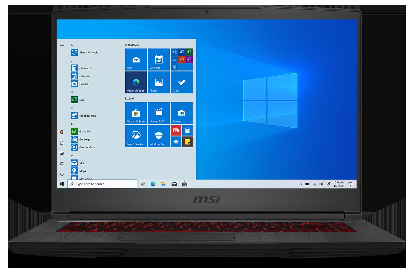 MSI GF65 Thin 10SDR-675 Gaming Laptop