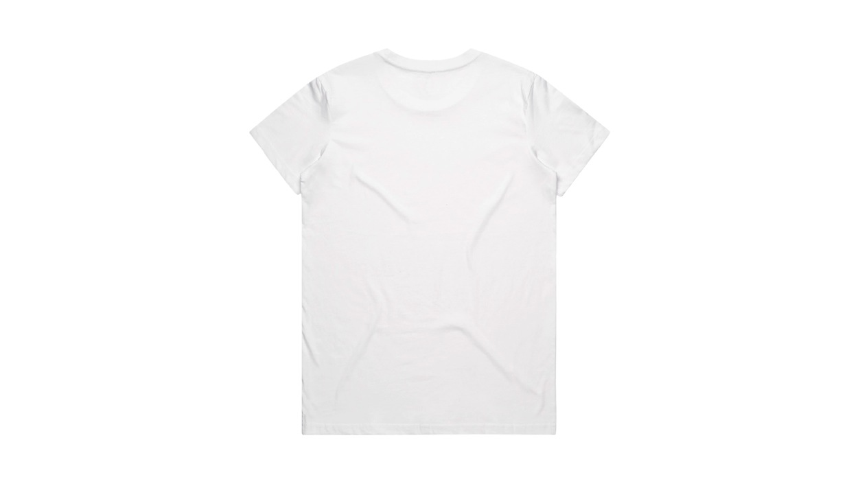 Back view of Distortion CT Sphere Tee - Womens