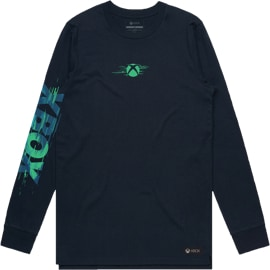 Front view of Distortion CT Long Sleeve Tee