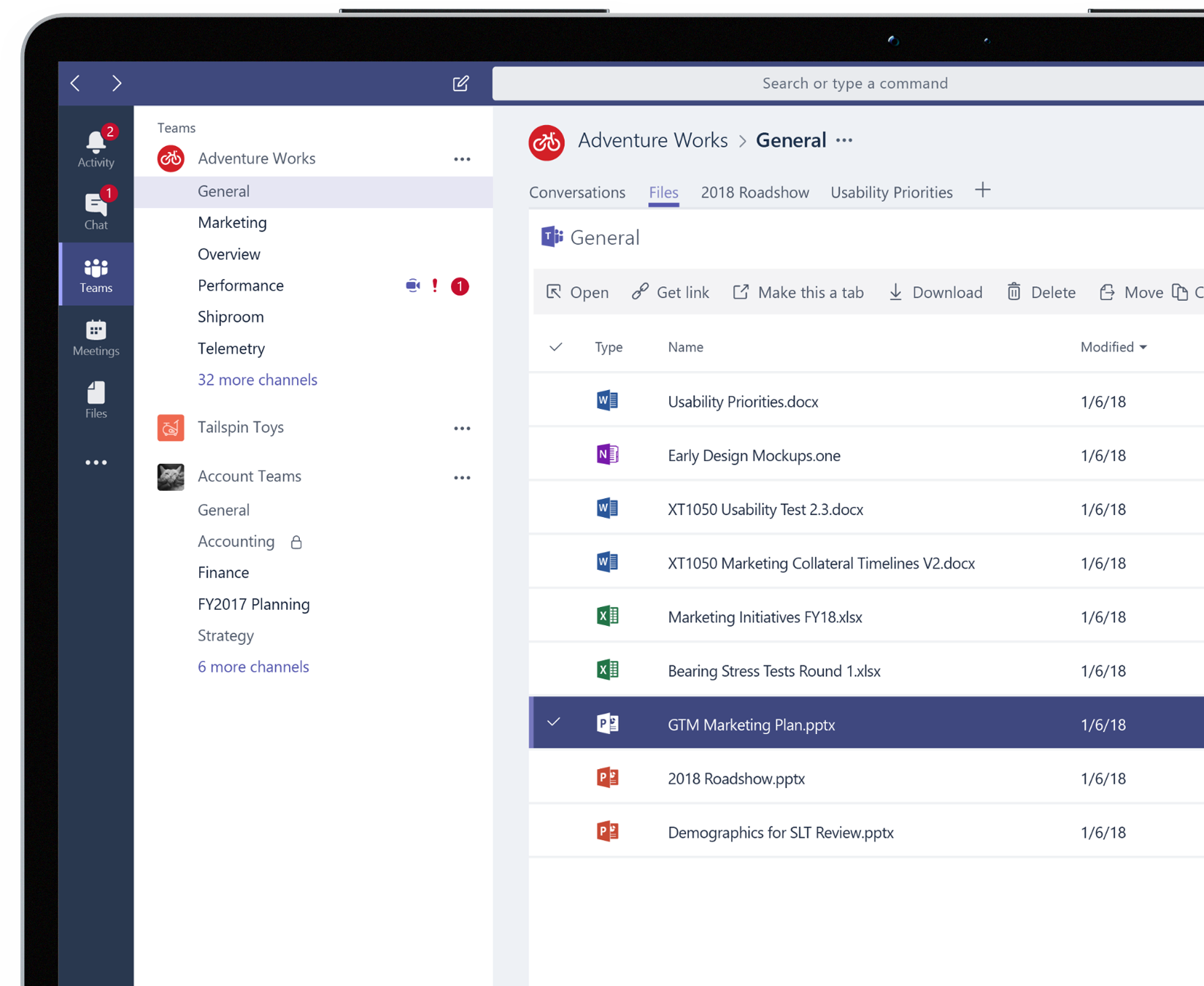 File sharing with Your Team | Microsoft Teams