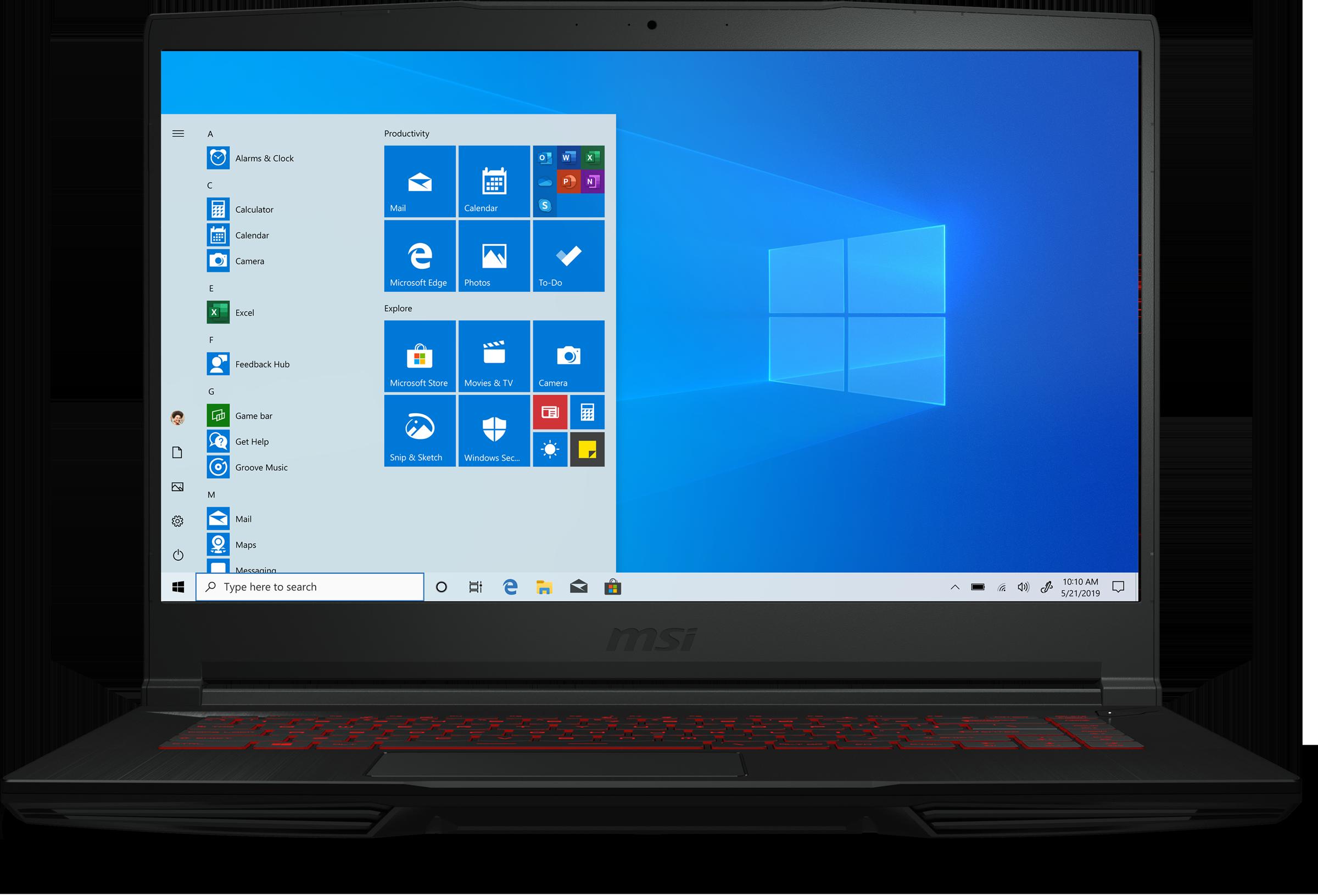 MSI GF63 THIN 10SCXR-485 Gaming Laptop