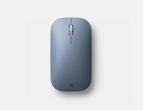 Мышь Microsoft Modern Mobile Mouse в пастельно-синим цвете
