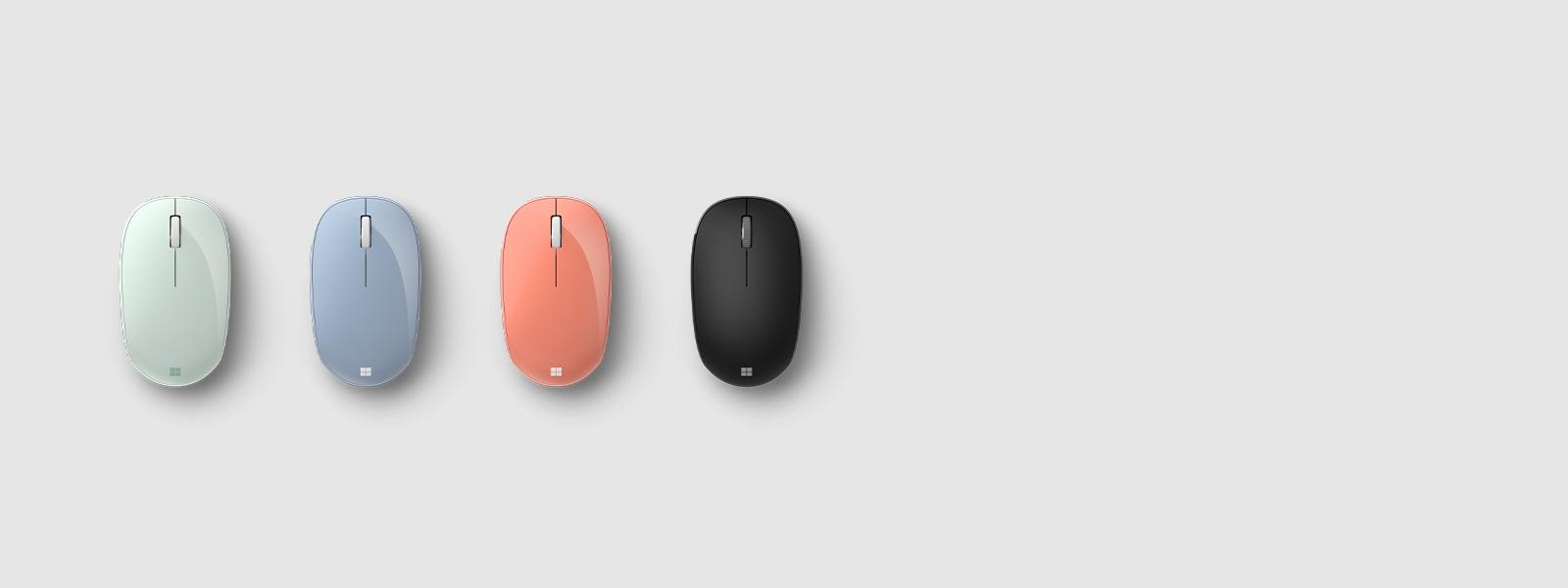 Bluetooth-мышь Microsoft в разных цветах