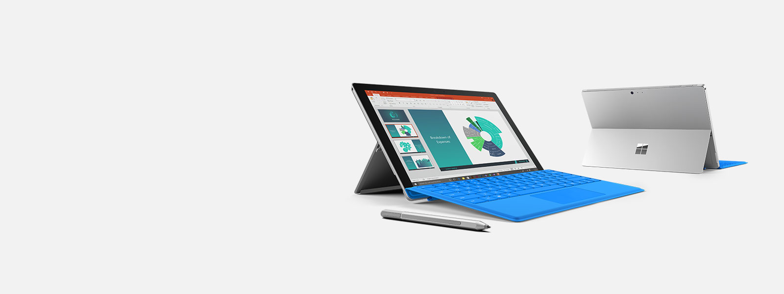 Surface Pro 4-enheter og Surface-penn