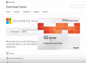 Video of How to upgrade SQL Server 2005 Express in place.