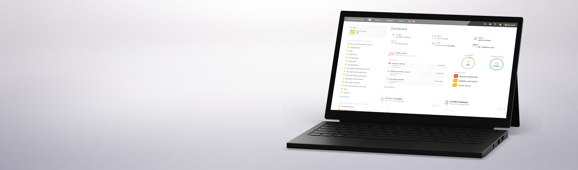 Windows tablet with keyboard.