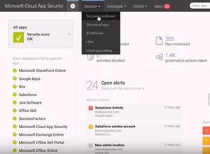 Video: Introducing Microsoft Cloud App Security.