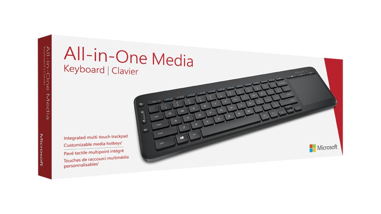 Microsoft All-in-One Media Keyboard boxshot