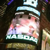 Video of Nasdaq.