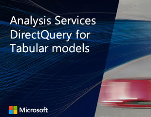 「表格式模型的 Analysis Services DirectQuery」影片的縮圖影像