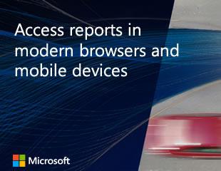 Access reports in modern browsers and mobile devices