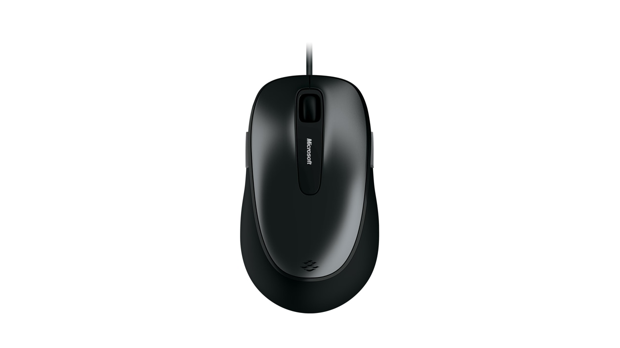 Microsoft Comfort Mouse 4500 Top View