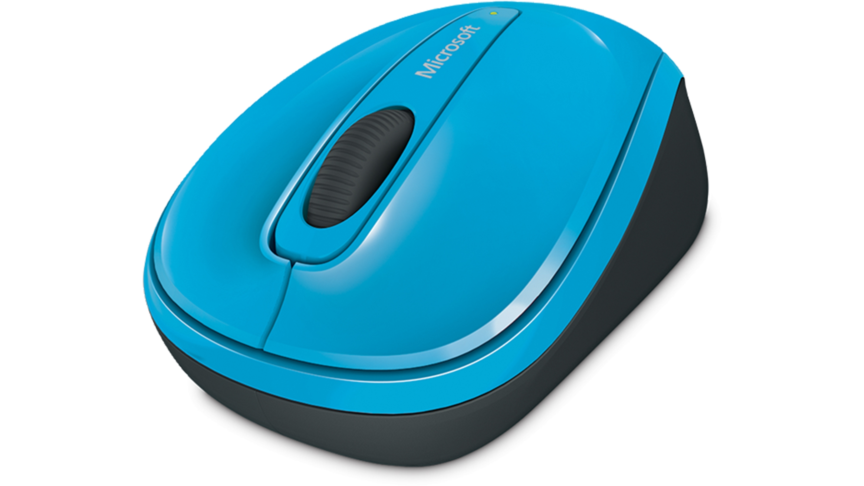 Wireless Mobile Mouse 3500 (Cyan Blue) - Front view
